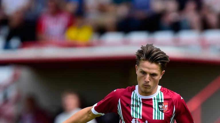 Tom Nichols scored for Exeter