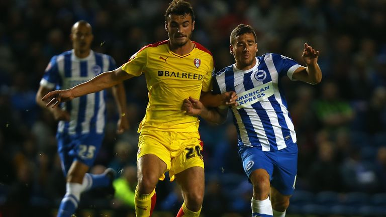Tomer Hemed (right) hopes to recover from injury