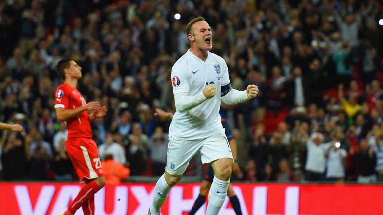 Wayne Rooney broke Sir Bobby Charlton's England goalscoring record