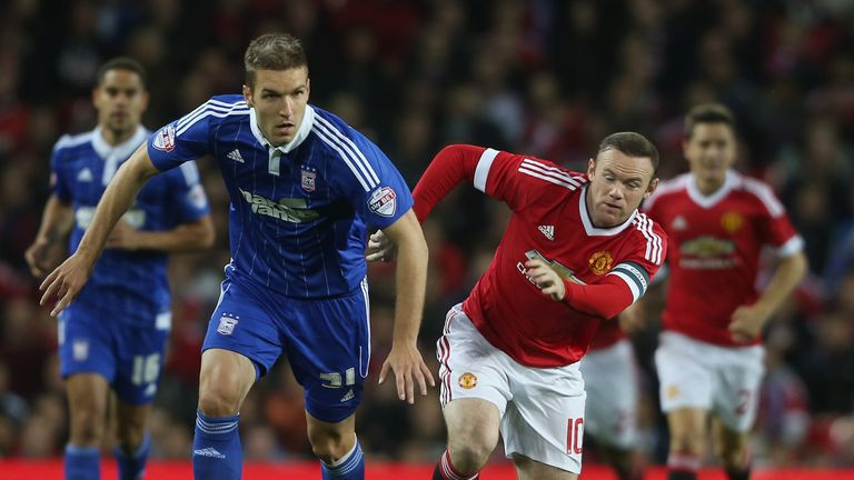 Rooney showed glimpses of form against Ipswich