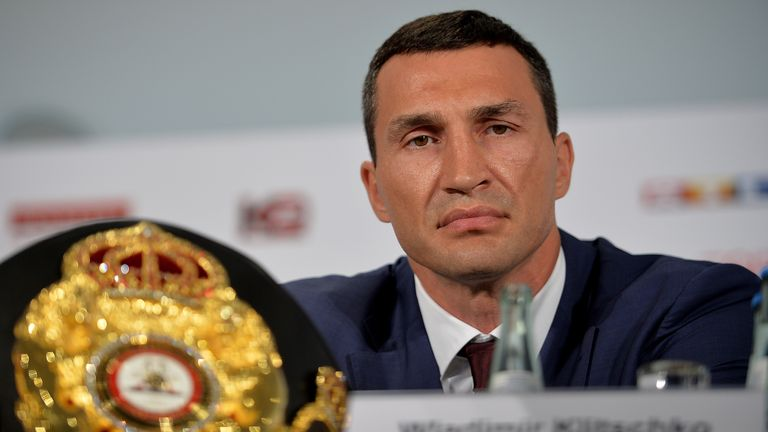 Wladimir Klitscko hasn't changed at all, says Johnny
