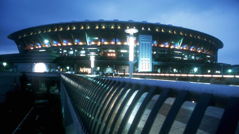 Yokohama F Marinos play at the city's International Stadium, which will host the Rugby World Cup final later this year