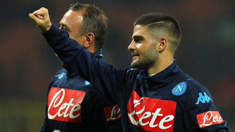 Lorenzo Insigne scored the opener for Napoli