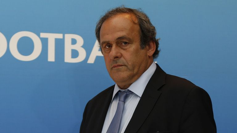 Platini was UEFA president between 2007 and 2015