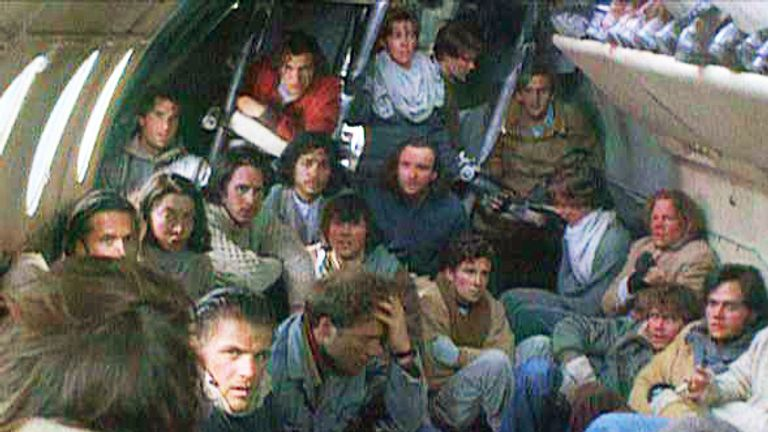 The story was told in 1993 film Alive. Pic: Paramount / Touchstone Pictures