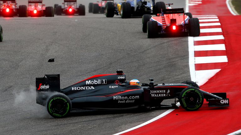 McLaren have spent most of 2015 among F1's backmarkers