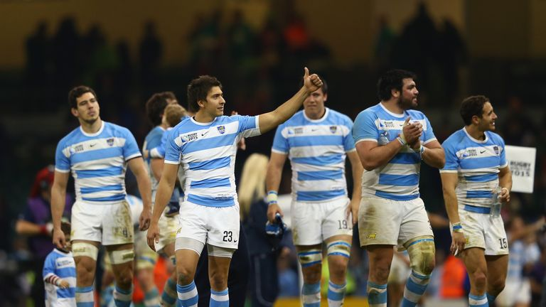 Argentina have featured in two semi-finals in the last three Rugby World Cups