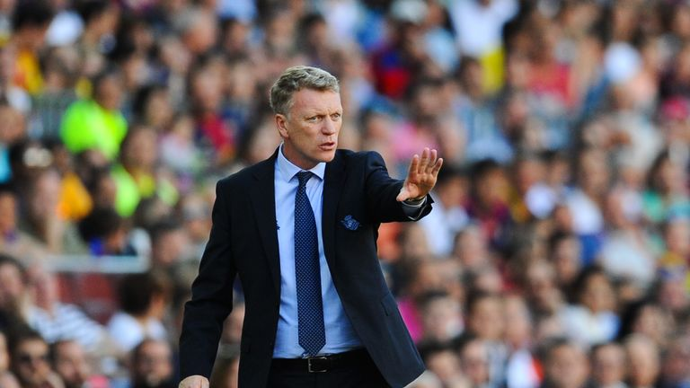 David Moyes' job is under threat at Real Sociedad after their sixth defeat of the season