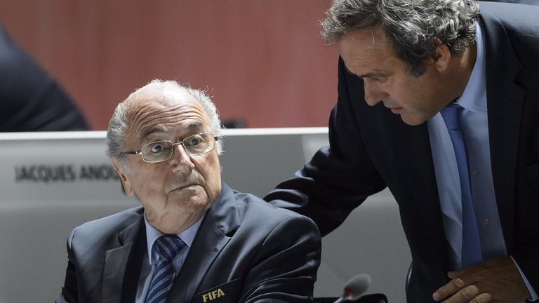 Russia want Sepp Blatter and Michel Platini in their country in 2018