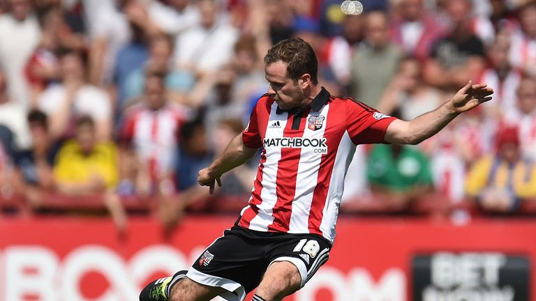 Alan Judge of Brentford is bang in form, according to Ian Holloway