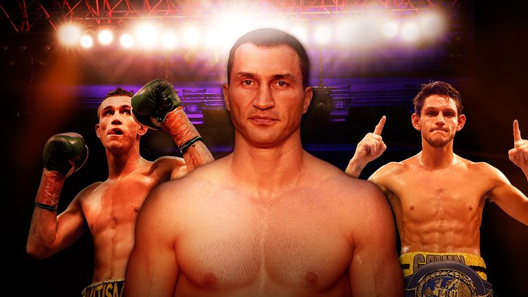 Boxing Brothers Klitschko Mcdonnell Smith Dirrell