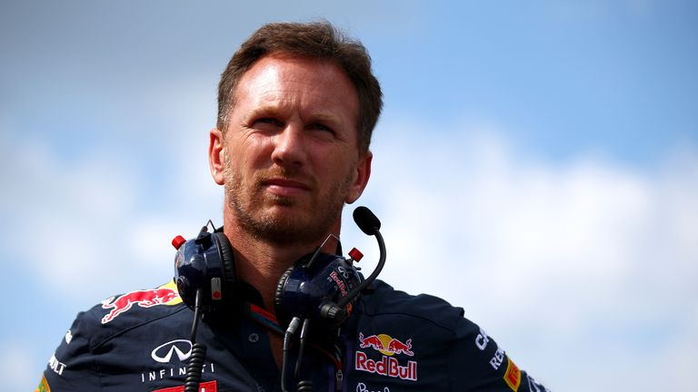 Christian Horner isn't sure when Renault's engine upgrades will arrive at the track