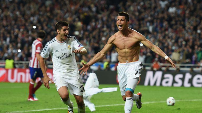 Ronaldo has won one La Liga title and won Champions League crown at Real Madrid