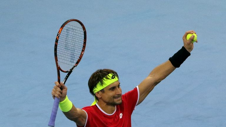 David Ferrer is celebrating his 25th ATP success after winning in Malaysia
