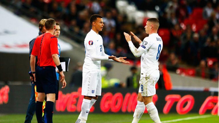 Dele Alli made his England debut against Estonia