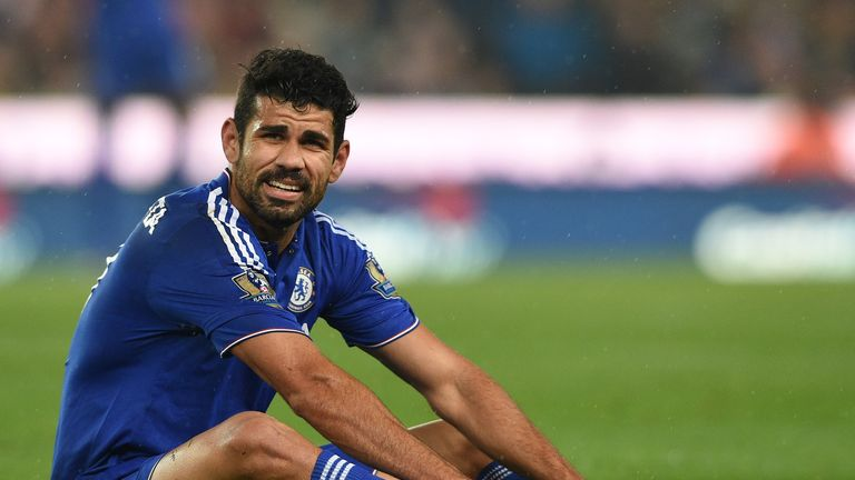 Diego Costa has been out of form for Chelsea this term