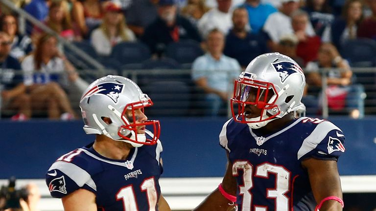 The New England Patriots will be without both Julian Edelman and Dion Lewis