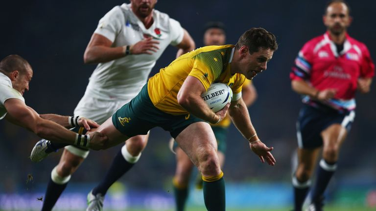 Bernard Foley was at the heart of Australia's run to the 2015 Rugby World Cup final