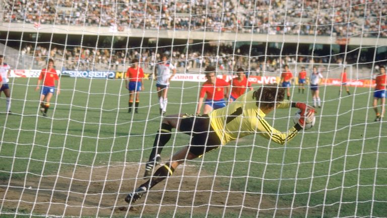 Ray Clemence denied Spain from the spot at Euro '80 but it was not enough