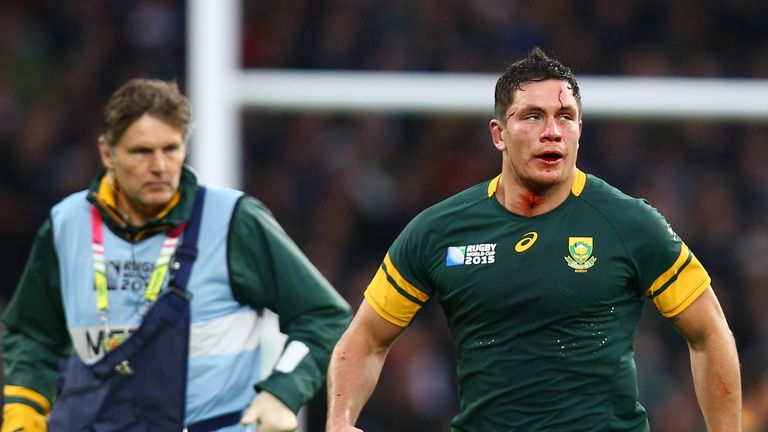 Francois Louw wins the No 7 jersey in our World XV