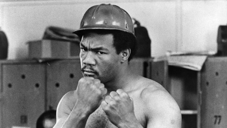 George Foreman used to let his fists do the talking