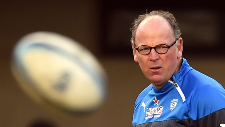 Jake White won the 2007 World Cup with South Africa and is currently coach of Montpellier