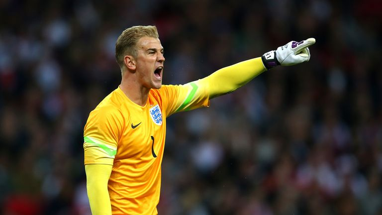 Joe Hart is England's undisputed No 1 goalkeeper