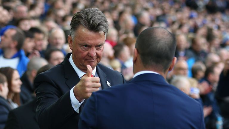 Van Gaal left Depay on the bench for United's win at Everton