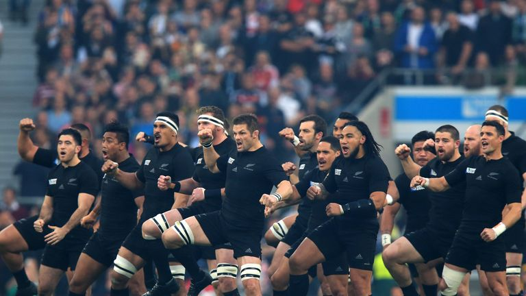 New Zealand Performing The Haka