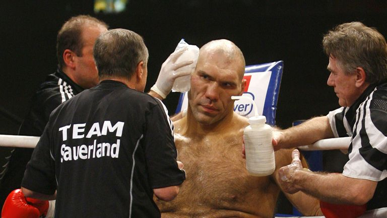 Nikolay Valuev was a heavyweight world champion who looked the part