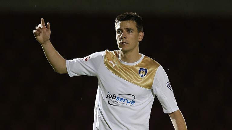 Owen Garvan: Set to miss out again for Colchester