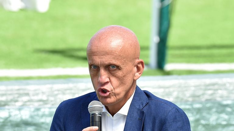 Collina believes dangerous tackles should be punished even if the ball is won