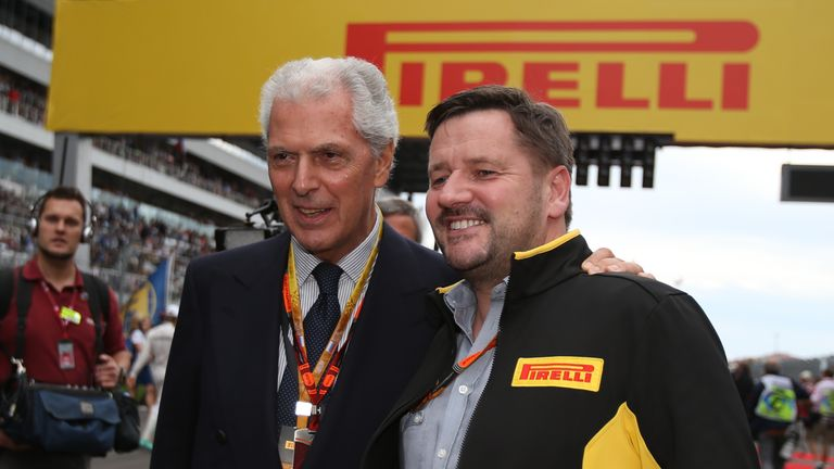 Pirelli's Marco Tronchetti Provera and Paul Hembery have confirmed a new three-year tyre deal has been agreed