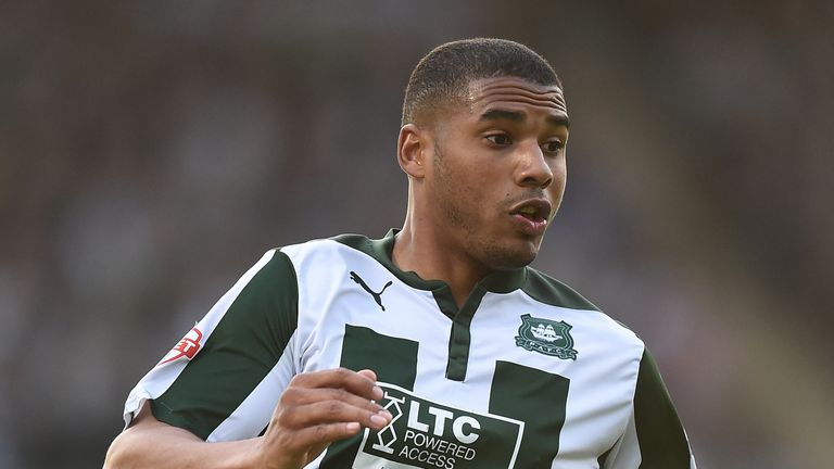 Reuben Reid has scored six times in League Two this season