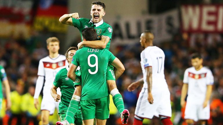 Republic of Ireland beat Germany in 2015