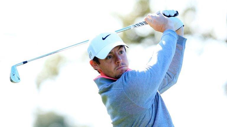 Rory McIlroy was let down by his putter for most of the tournament