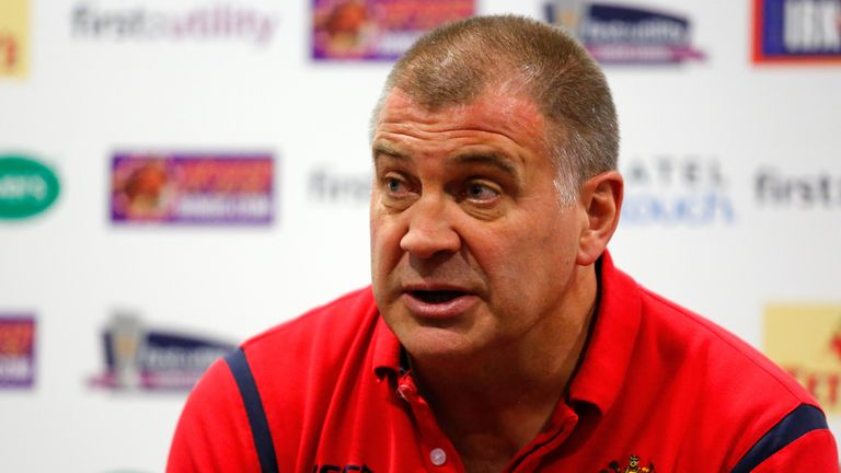 Head coach Shaun Wane desribed Michael McIlorum's injury as a bad one