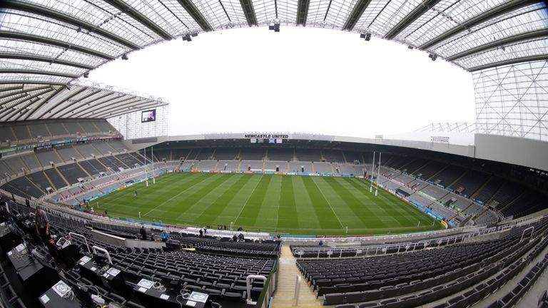 HMRC officers raided St James' Park at 6.30am on Wednesday
