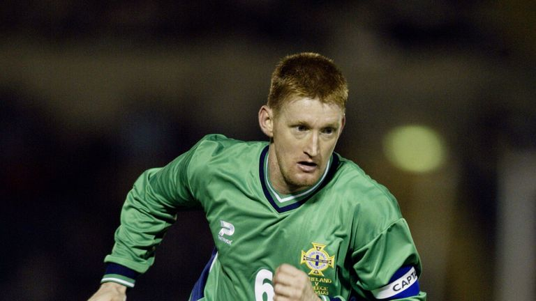 Steve Lomas scored three times in 45 appearances for Northern Ireland
