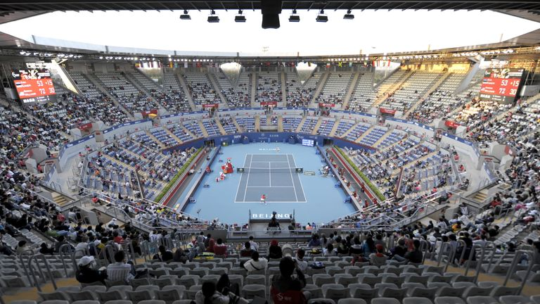 The Tennis Roadshow Heads To Beijing For The China Open On Monday