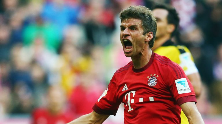 Thomas Muller has refused to rule out a future move to England