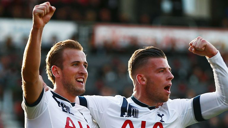Alderweireld helped set up Harry Kane in the 5-1 win over Bournemouth on Sunday