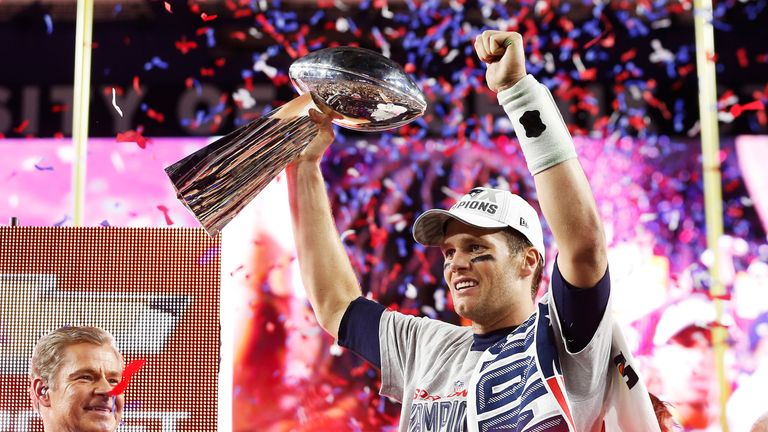 Tom Brady will be looking to add to his four Super Bowl wins