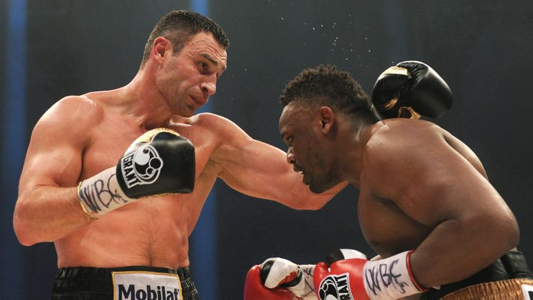 Klitschko vs Fury: Sky Sports spoke to the English fighter