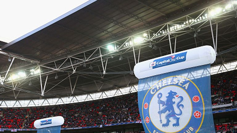 Chelsea and Tottenham both want to play at Wembley