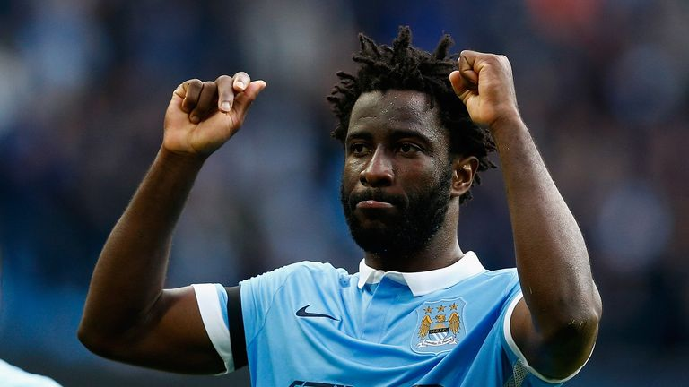 Wilfried Bony netted in City's win over Bournemouth at the Etihad