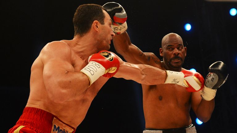 Tony Thompson (right) is hoping for a third crack at Wladimir Klitschko