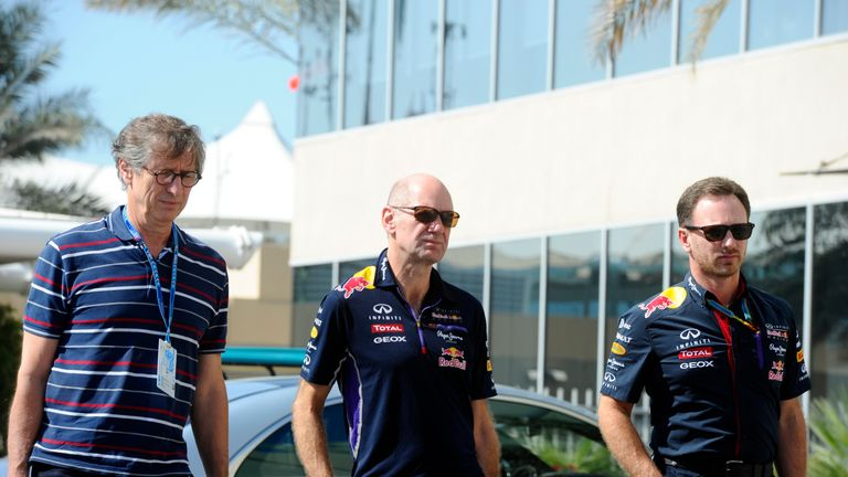 Mario Illien (left) has joined forces with Renault to assist their engine programme