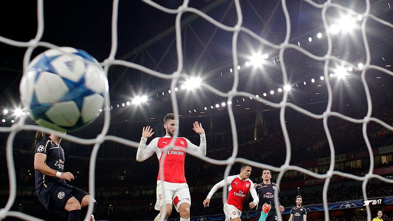 Arsenal had to beat Dinamo Zagreb after losing three of their first four Champions League games