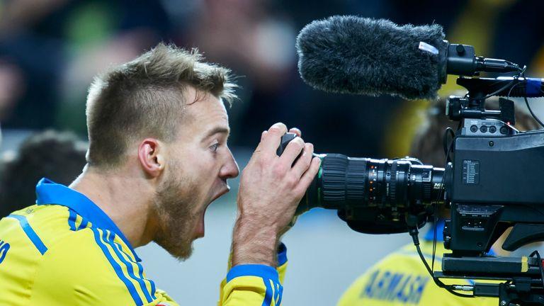 Andriy Yarmolenko put Ukraine in front after 22 minutes